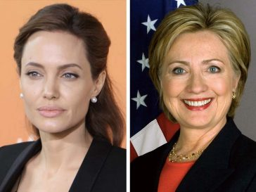 Анджелина Джоли и Хилъри Клинтън