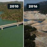 Земята тогава и сега. Снимки на НАСА от последните 100 години