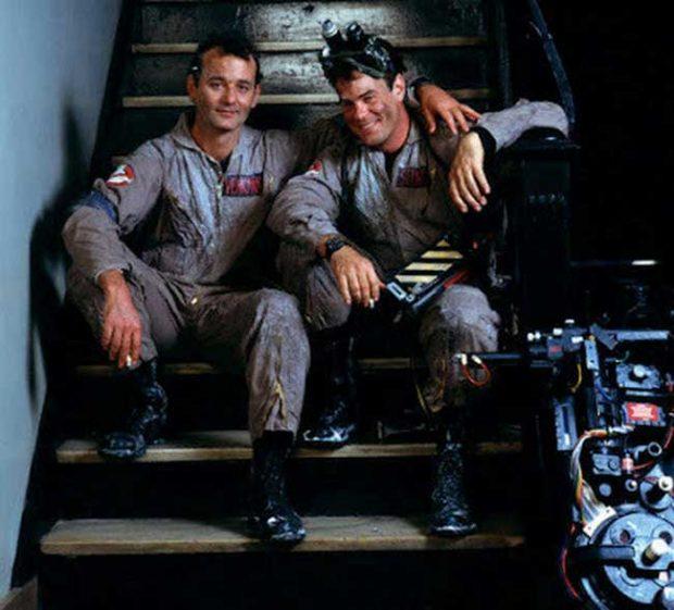 Бил Мъри и Дан Акройд са приятели и зад кадър в Ловци на духове