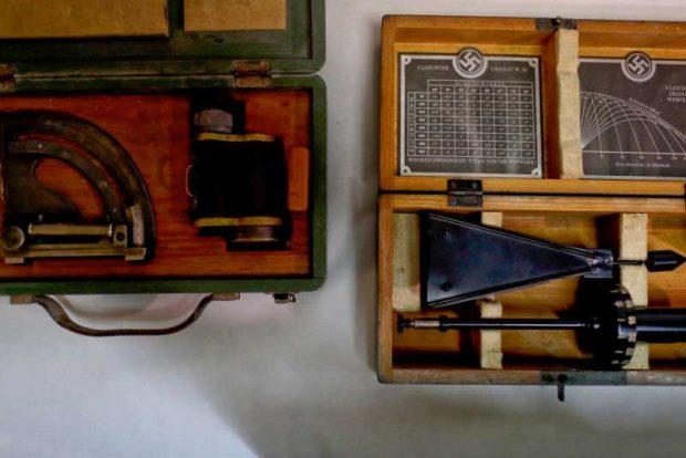 Медицински инструмент, използван от нацистите за измерване на размера на главата