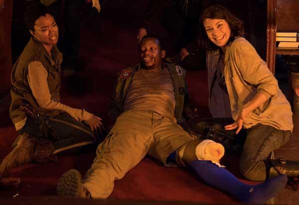 А, ето къде е отишъл кракът на Боб от Живите мъртви, сезон 5