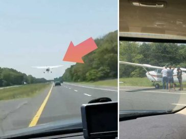Обзалагаме се, че не това е мястото за кацане на самолет