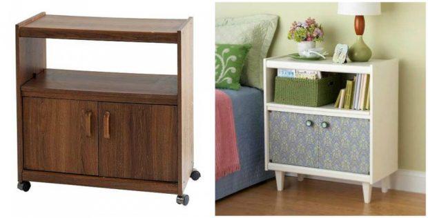 Още една много сладка идея за преобразявне на нощно шкафче