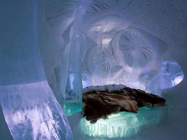 Ice Hotel In Jukkasjarvi, Швеция