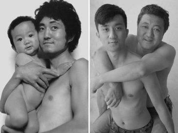 29 снимки на баща и син в продължение на 29 години. Това е наистина затрогващо