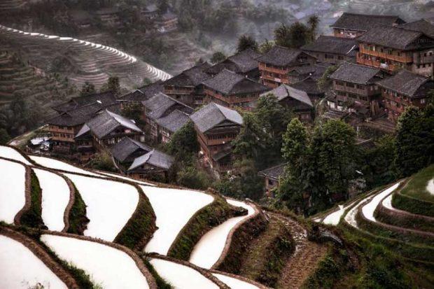 Планинско село, Китай