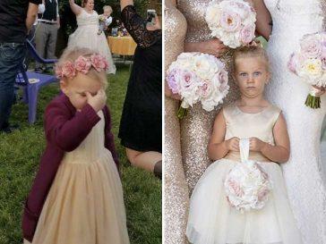 36 забавни снимки с деца на сватба