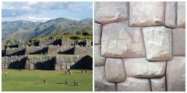Древният храмов комплекс Саксайуаман в Перу