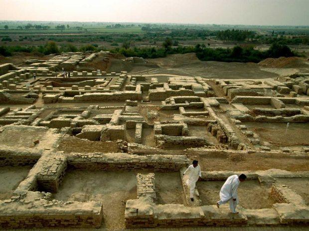 """Мохенджо-Даро (""""Планината на смъртта"""") в Пакистан"""