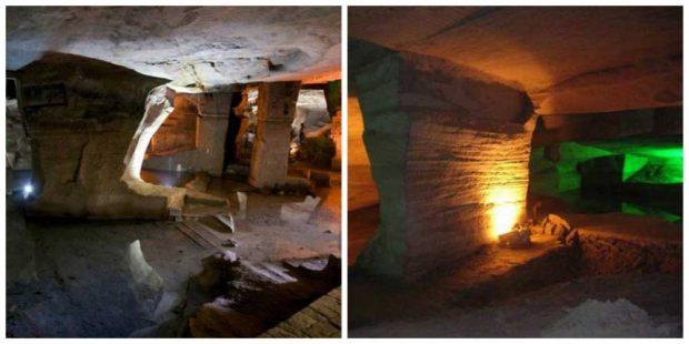 Тайнствените пещери Лонгю в Китай