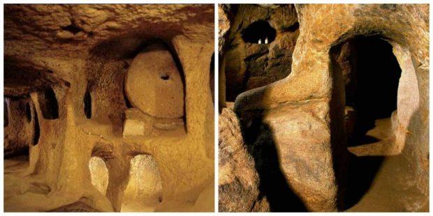 Подземните тунели от каменната ера, минаващи през цяла Европа