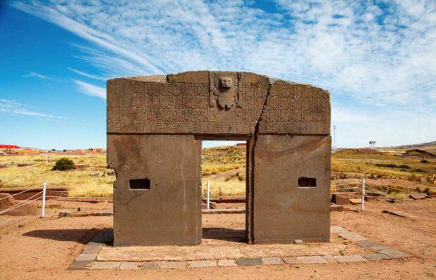 Портата на Слънцето в Боливия