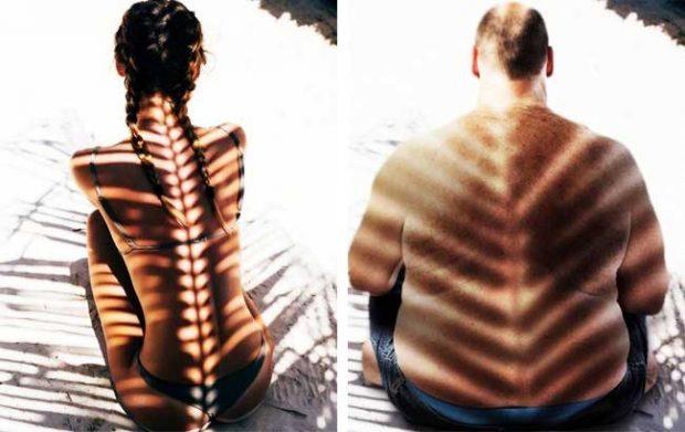 Никога не си бил на екзотична почивка, ако нямаш снимка със сянката на палмови листа върху гърба си