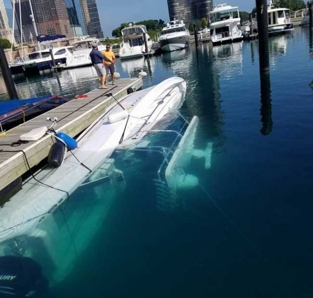 Най-бързият начин да измиеш яхтата