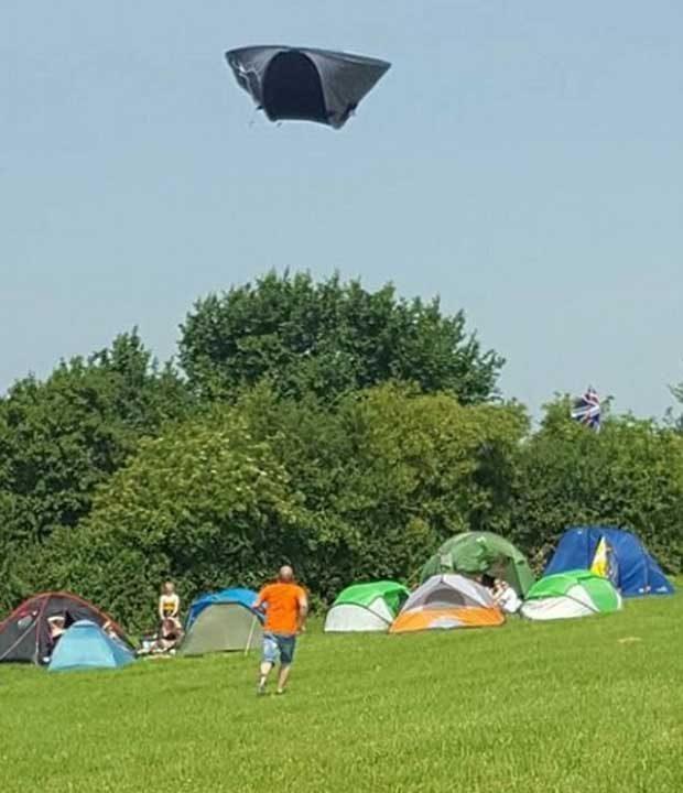 """""""Реших да отида на къмпинг за първи път в живота си. Беше хубава палатка..."""""""