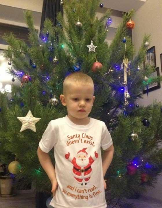 """""""Подарих на брат ми тениска за Коледа"""""""