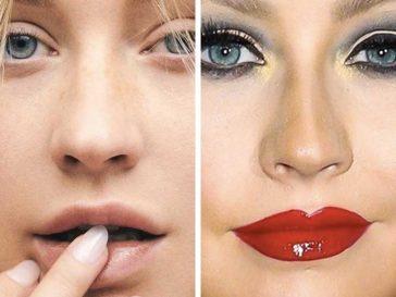 Как изглеждат някои от най-известните и красиви жени без грим