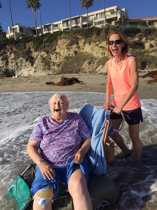 """""""Баба искаше да види океана, преди да постъпи в болница"""""""