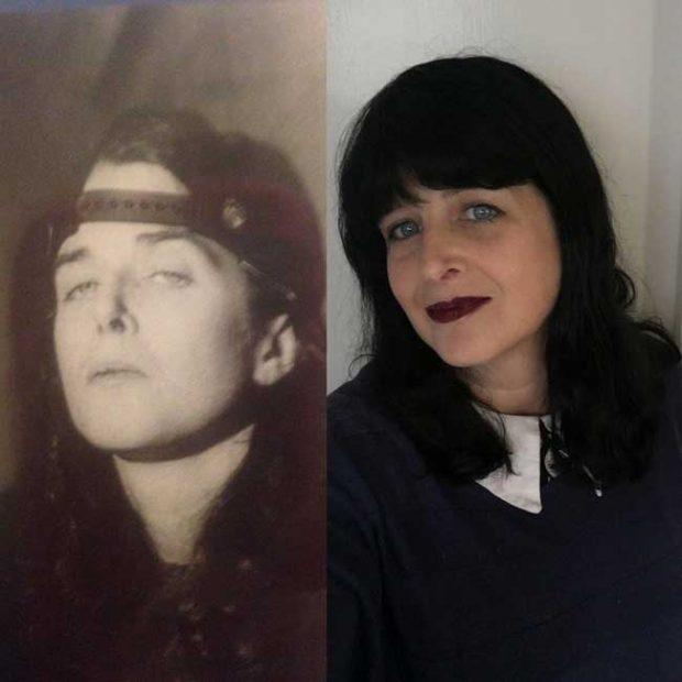 """""""В ляво съм аз през декември 1995 г., а в дясно - през декември 2017. Преживях пристрастяване, останах без дом и лежах в затвора. Днес отбелязвам 20 години, откакто съм на чисто"""""""