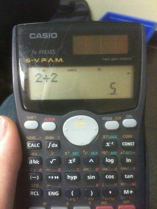 """""""Всичко, което знаех за този свят беше току що сринато от този калкулатор"""""""