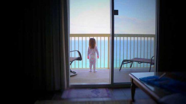 """""""Моментът, в който дъщеря ми видя океана за първи път"""""""