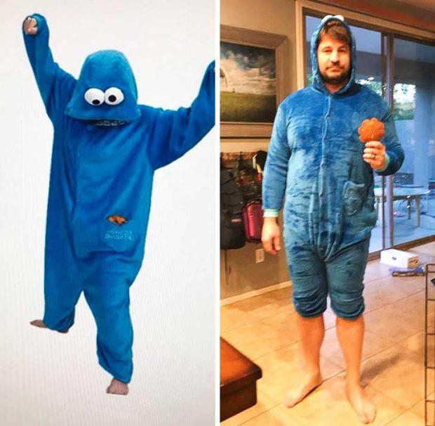 """""""Жена ми ми купи пижама на Бисквитеното чудовище за Коледа"""""""