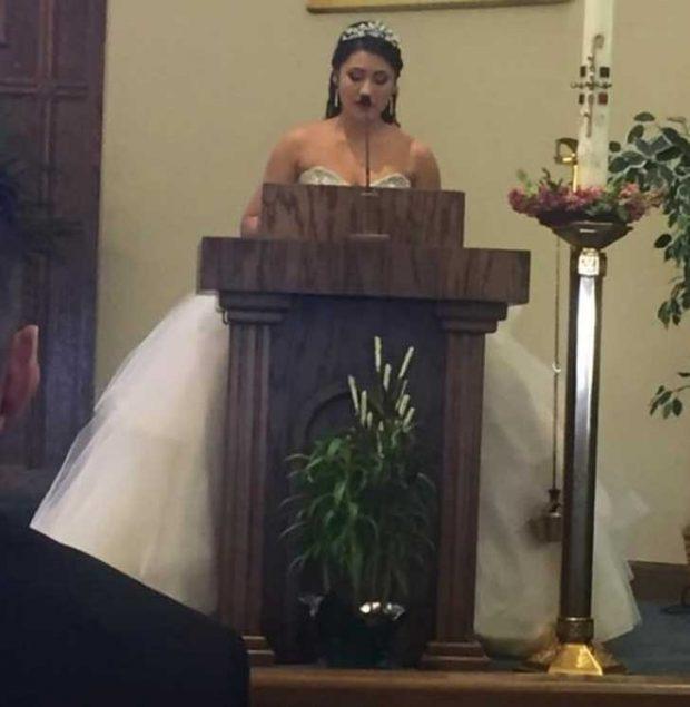 Това не е най-добрата сватбена снимка