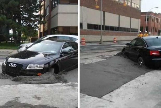 Паркирането е бетон!