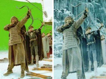 10 снимки, разкриващи как изглеждат някои известни филми без специални ефекти