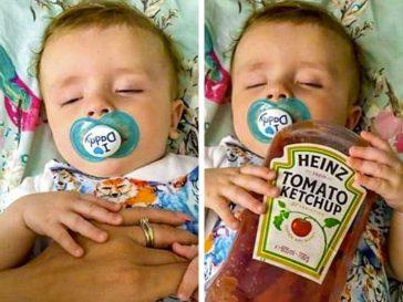25 снимки, показващи радостите и предизвикателствата на всеки млад родител