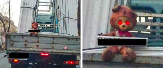 Каква е причината, която го е накарала да сложи това на камиона си?
