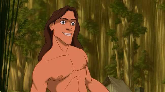 Тарзан е симпатяга