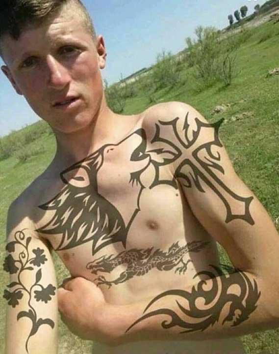 Истински триизмерни татуировки