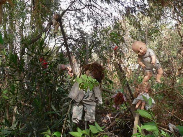 Островът на мъртвите кукли в Мексико