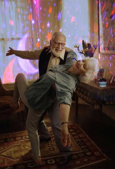 """""""Ето как баба и дядо отпразнуваха тяхната 60-та годишнина заедно"""""""