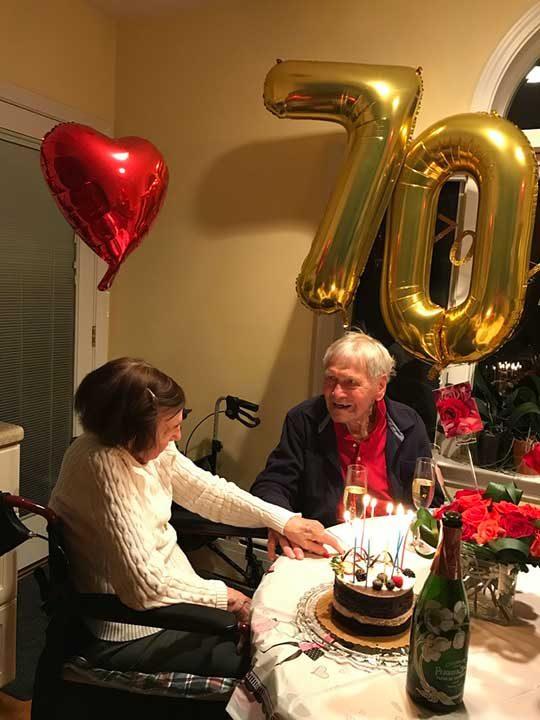 70 години заедно