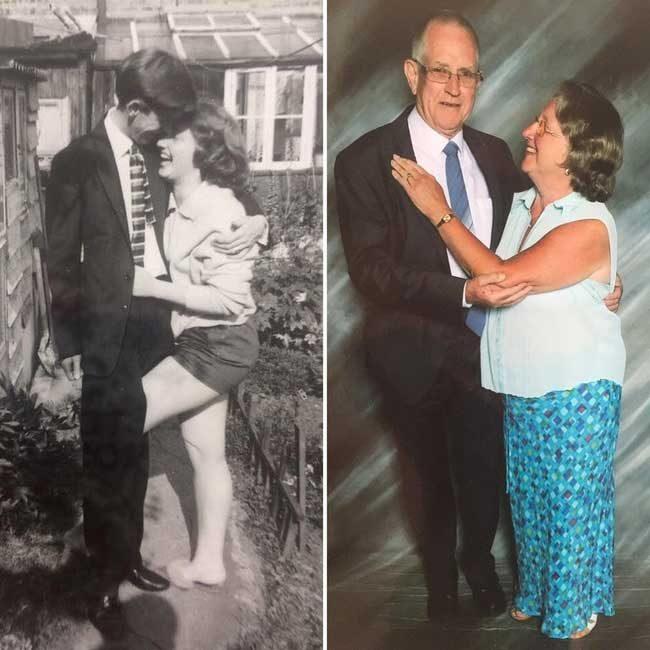 След 50 години, те все още са тотално влюбени един в друг