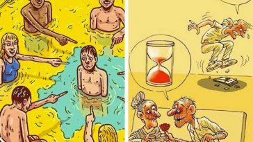 20 силни илюстрации, разкриващи, че нещо не е наред с този свят