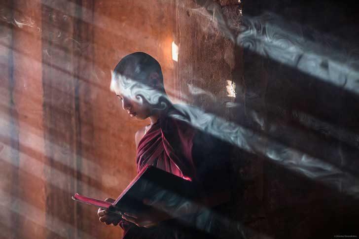 Монах, Мианмар