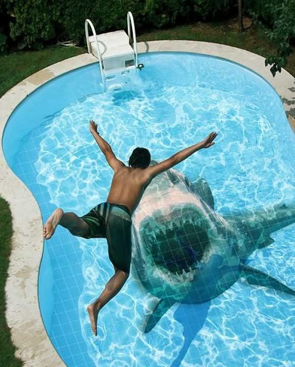 Ако имаш басейн, можеш да изненадаш гостите си с тези уникални и ужасяващи плочки на дъното