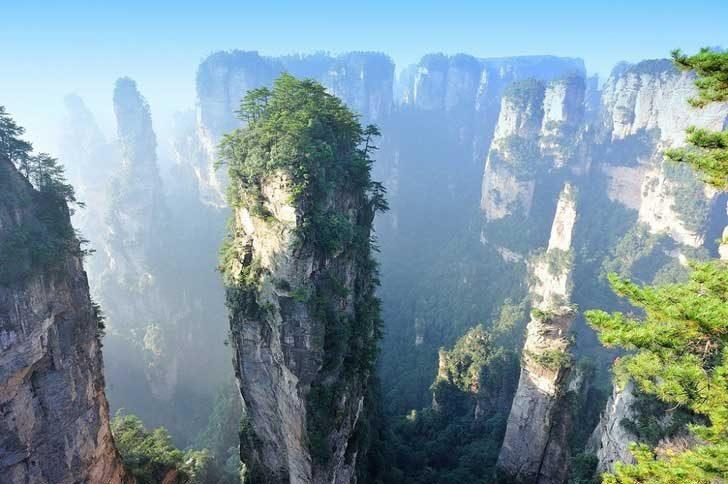 Национален горски парк Жанджайе, Китай