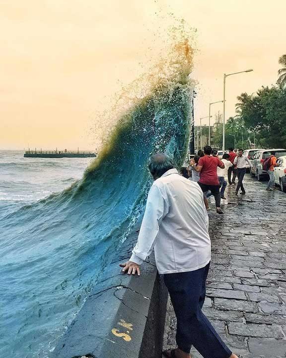 Природата е направила тази снимка просто идеална