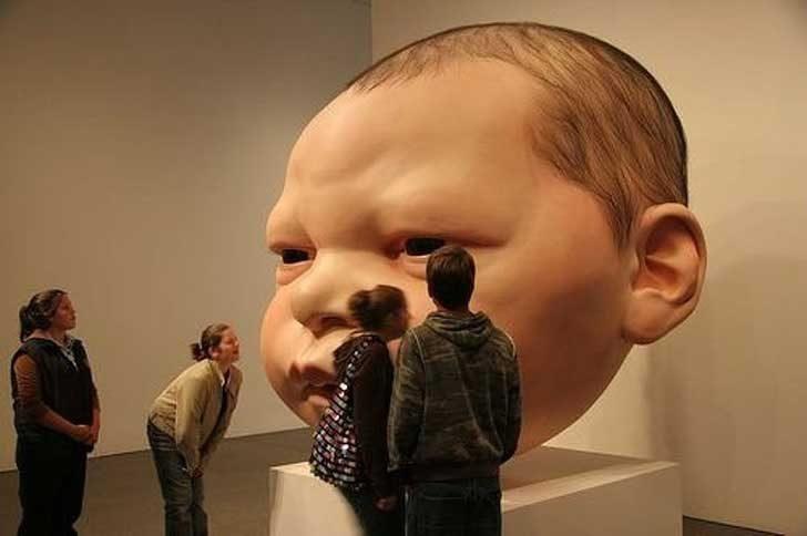 Хиперреалистичните скулптури на Рон Мюек