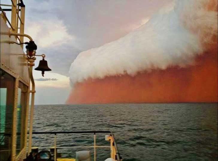 Пясъчна буря в Австралия