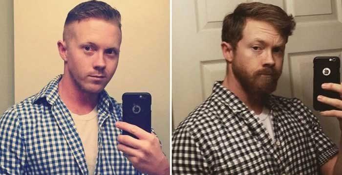 """Коментарът, който този мъж получи под своята снимка в интернет беше: """"Ако някога отново се обръснеш, аз лично ще те намеря и ще ти залепя брадата обратно"""""""