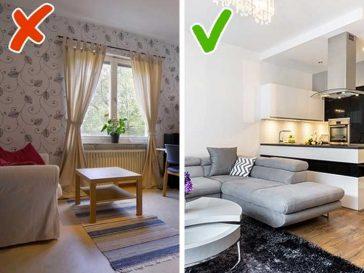 10 идеи за малък апартамент, които ще преобразят жилището ти