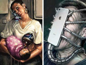 18 илюстрации, разкриващи как модерните технологии влияят върху живота ни