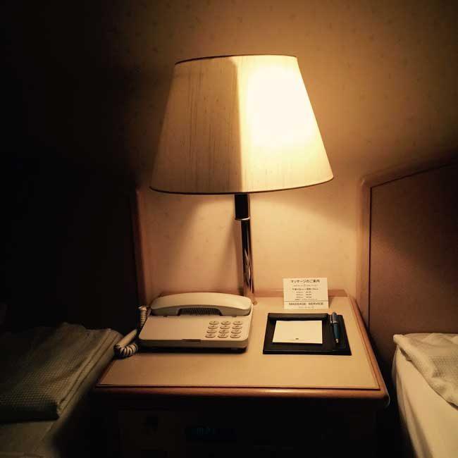 Нощната лампа в този хотел в Япония може да свети и наполовина