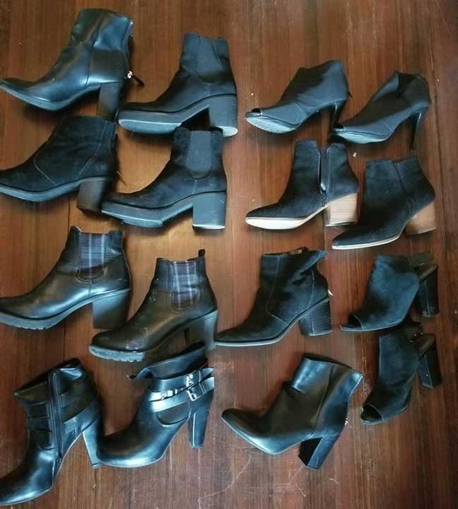 """""""Жена ми се оплаква, че си купувам само едни и същи обувки, в същото време..."""""""
