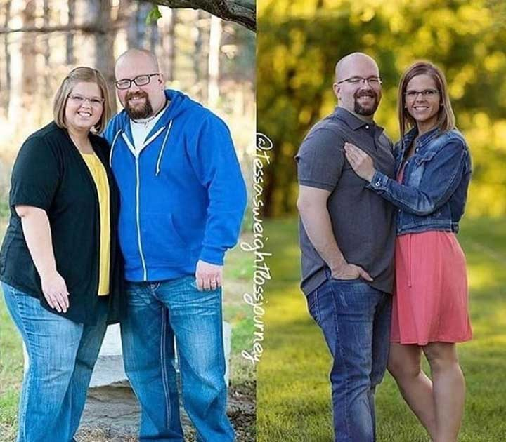 Можеш да видиш резултатите от една невероятна трансформация. Между тези 2 снимки са изминали 3 години